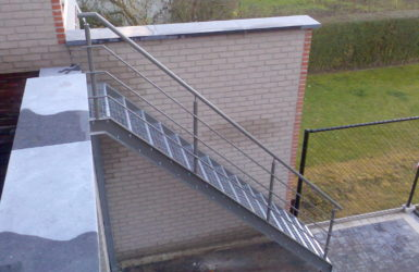 Gelakte trap Sint-Stevens-Woluwe